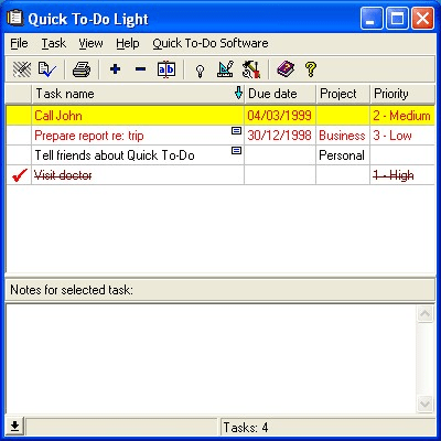 Quick To-Do Light