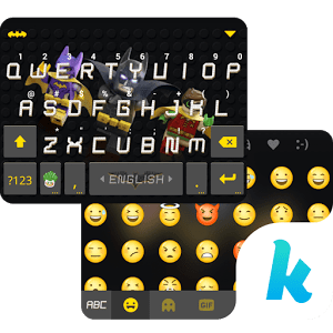 LEGO Batman Kika KeyboardTheme 2.0