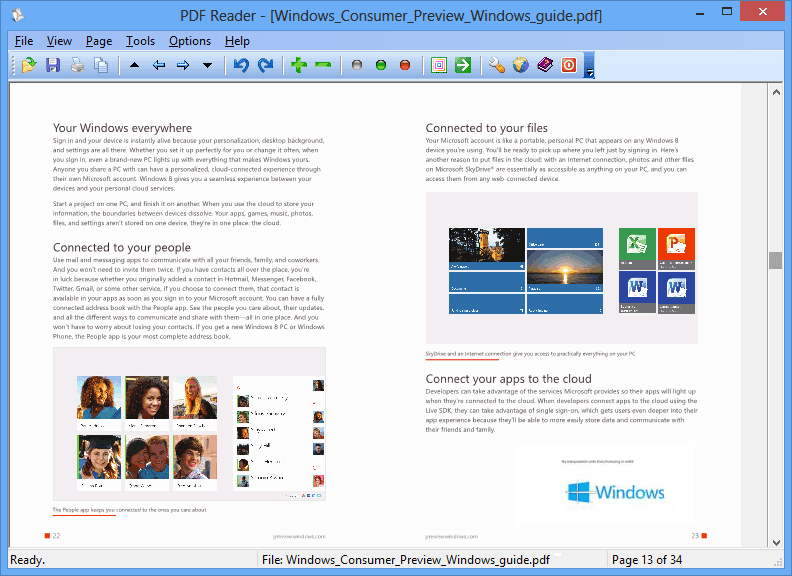 PDF Reader for Windows 10