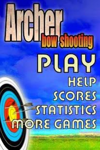 Archer tiro con arco