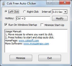 Cok Free Auto Clicker