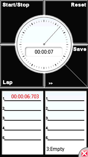 Soft Touch StopWatch