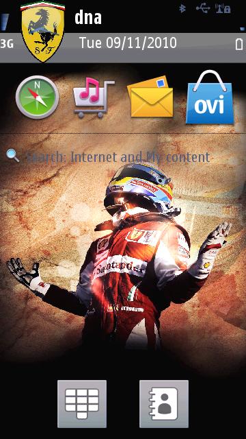 Tema Fernando Alonso en Ferrari