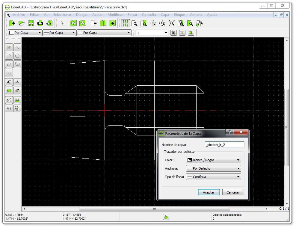 Librecad descargar for Programa diseno de piscinas 3d gratis