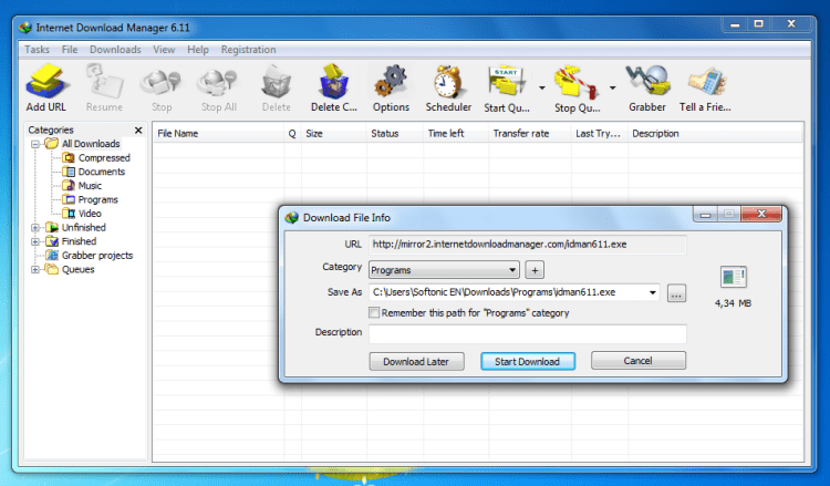 internet download manager download