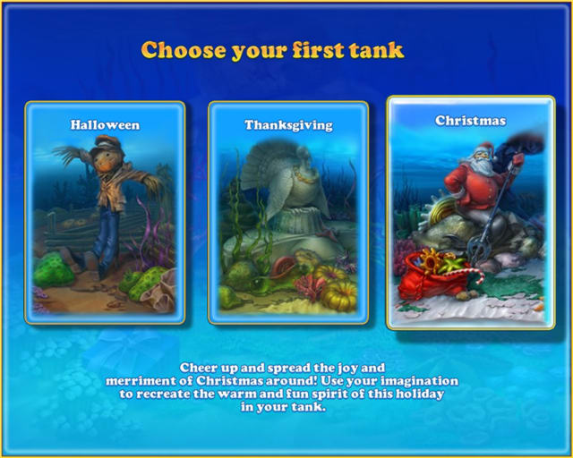 fishdom seasons under the sea is game for your pc that allows you to earn points by solving logic puzzles and decorating an animated fish tank for specific
