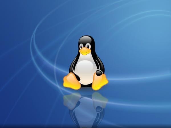 Linux OS-Tux Wallpaper