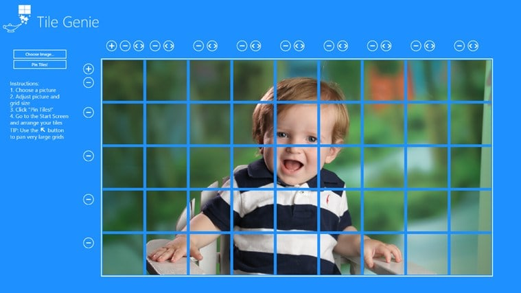 Tile Genie for Windows 10