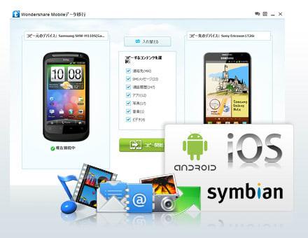 Wondershare Mobileデータ移行(Win版)