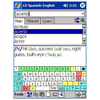 LingvoSoft Talking Dictionary 2008 English-Spanish