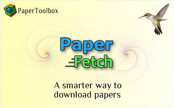 PaperToolbox