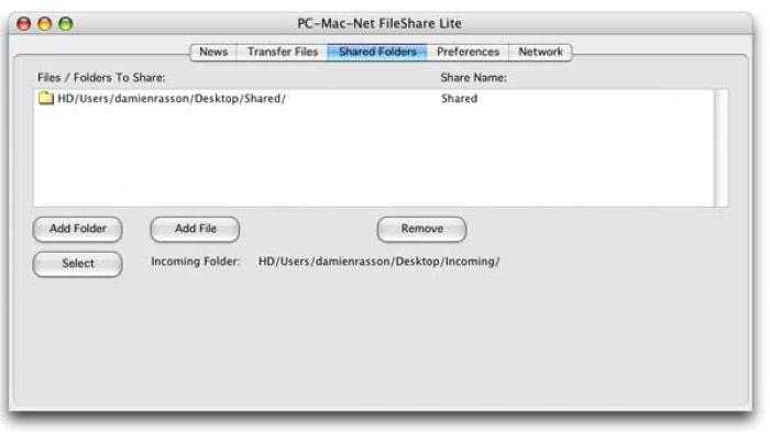 PC-Mac-Net FileShare Lite