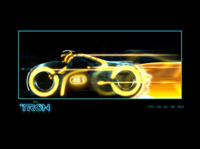 Tron Legacy Screensaver