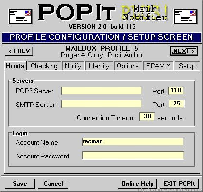 POPIt Mail Notifier PLUS