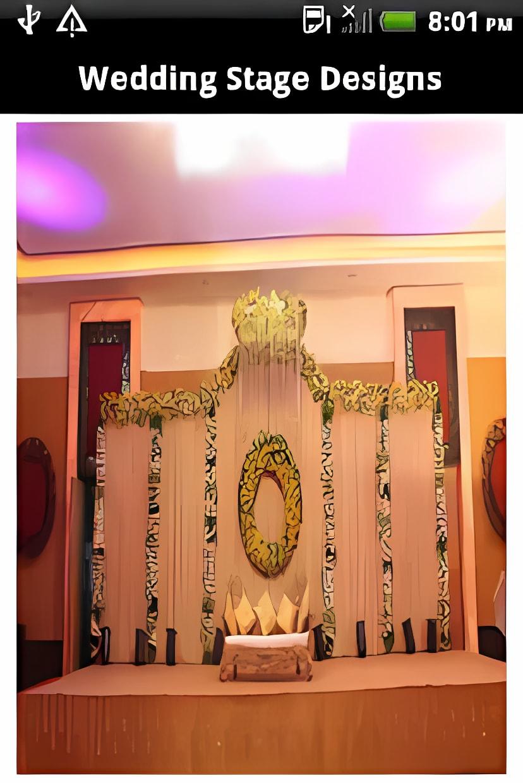 Mehndi Stage Designs
