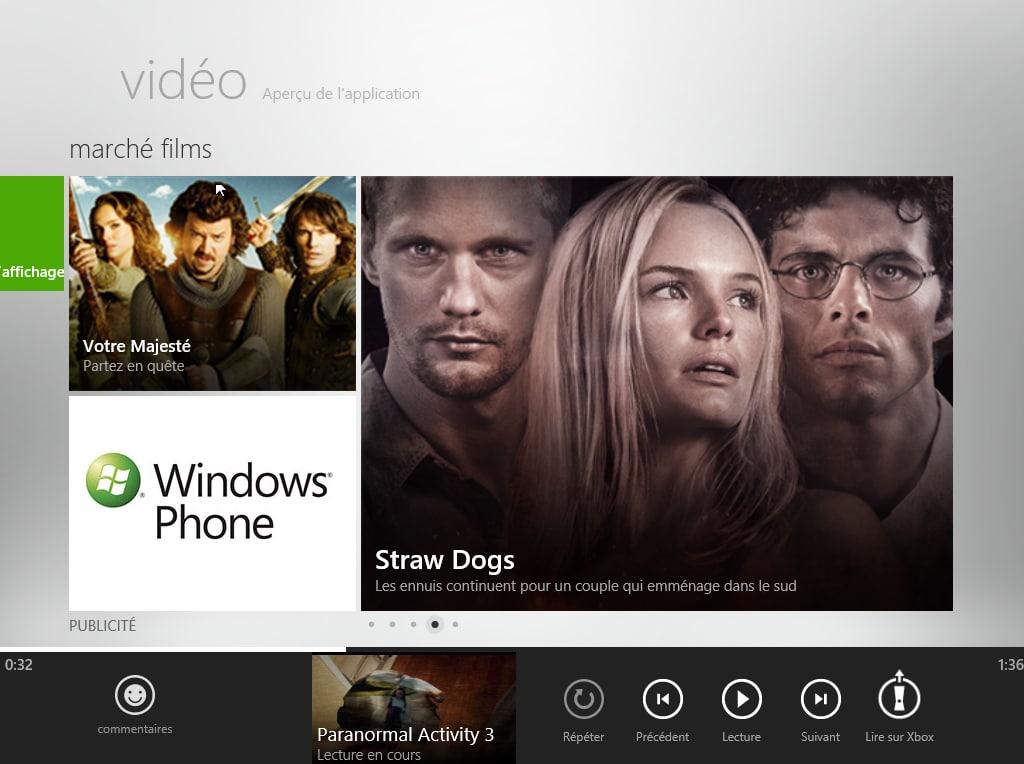 Vidéo pour Windows 10