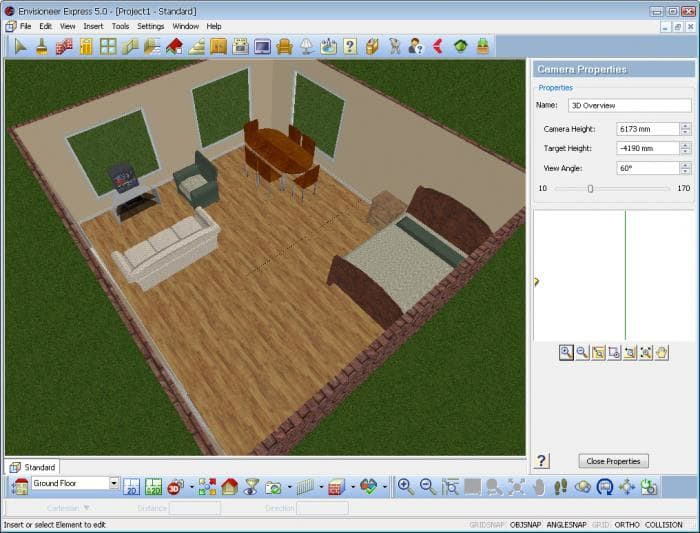Interior Design Computer Program envisioneer express - download