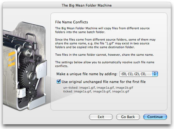 The Big Mean Folder Machine