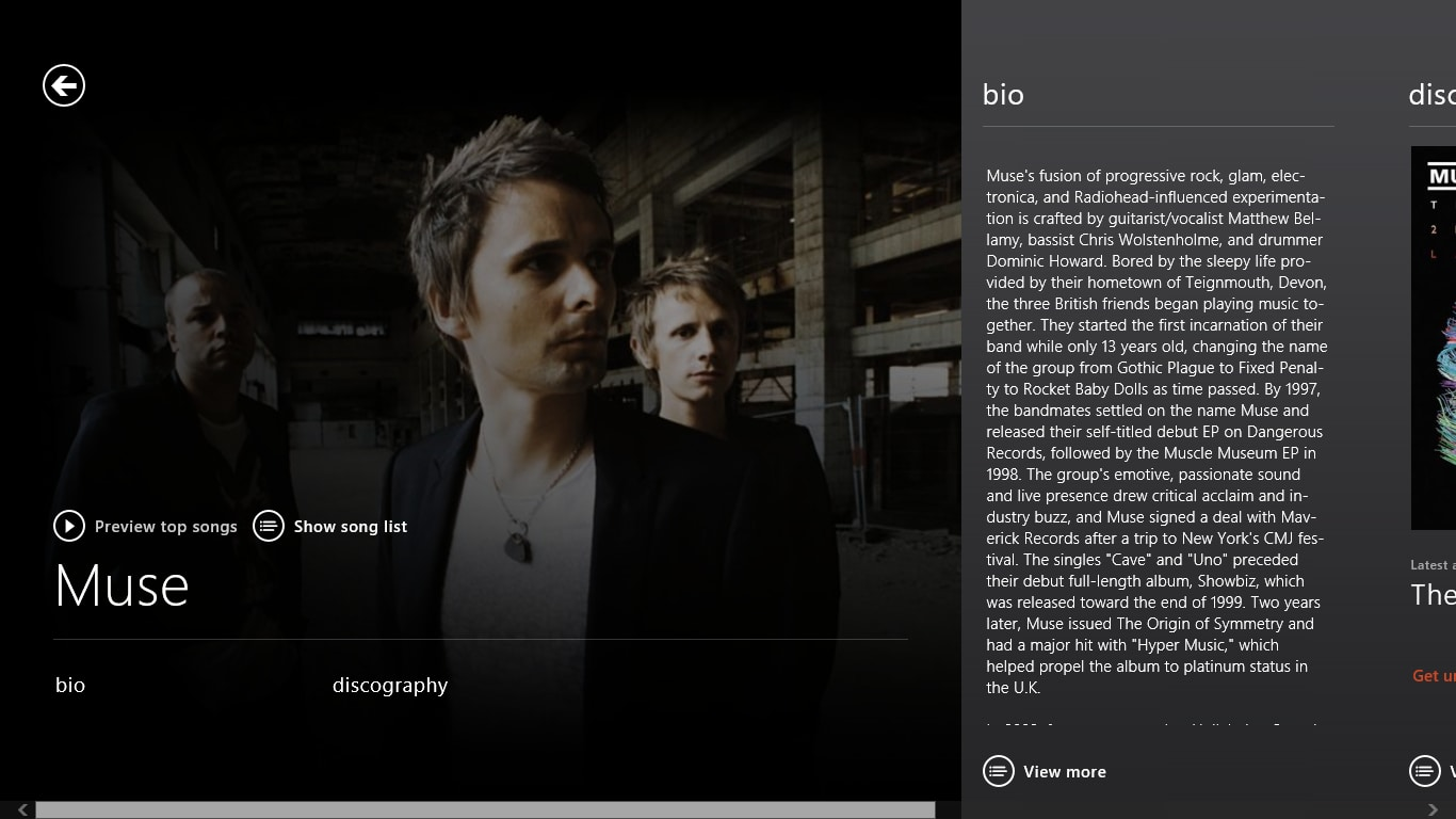 Xbox Music for Windows 10