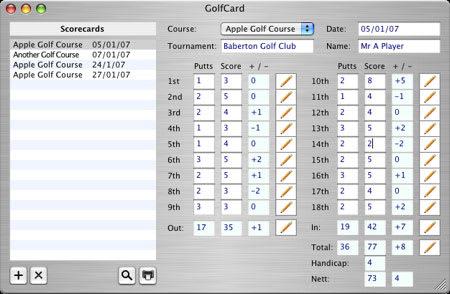 GolfCard