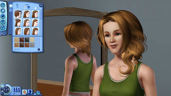 Rosey Cloud Female Hairstyle pour les Sims 3