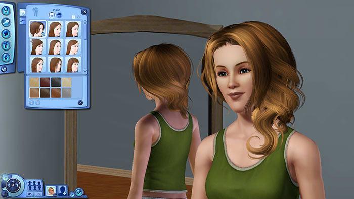 Rosey Cloud Frisur für Die Sims 3
