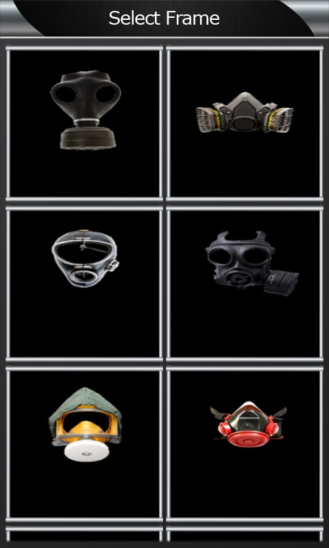 Gas Mask Photo Montage