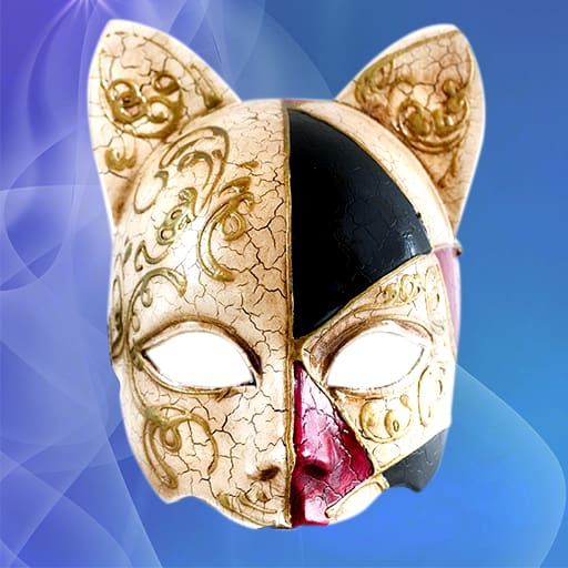 Cat Mask Photo Montage