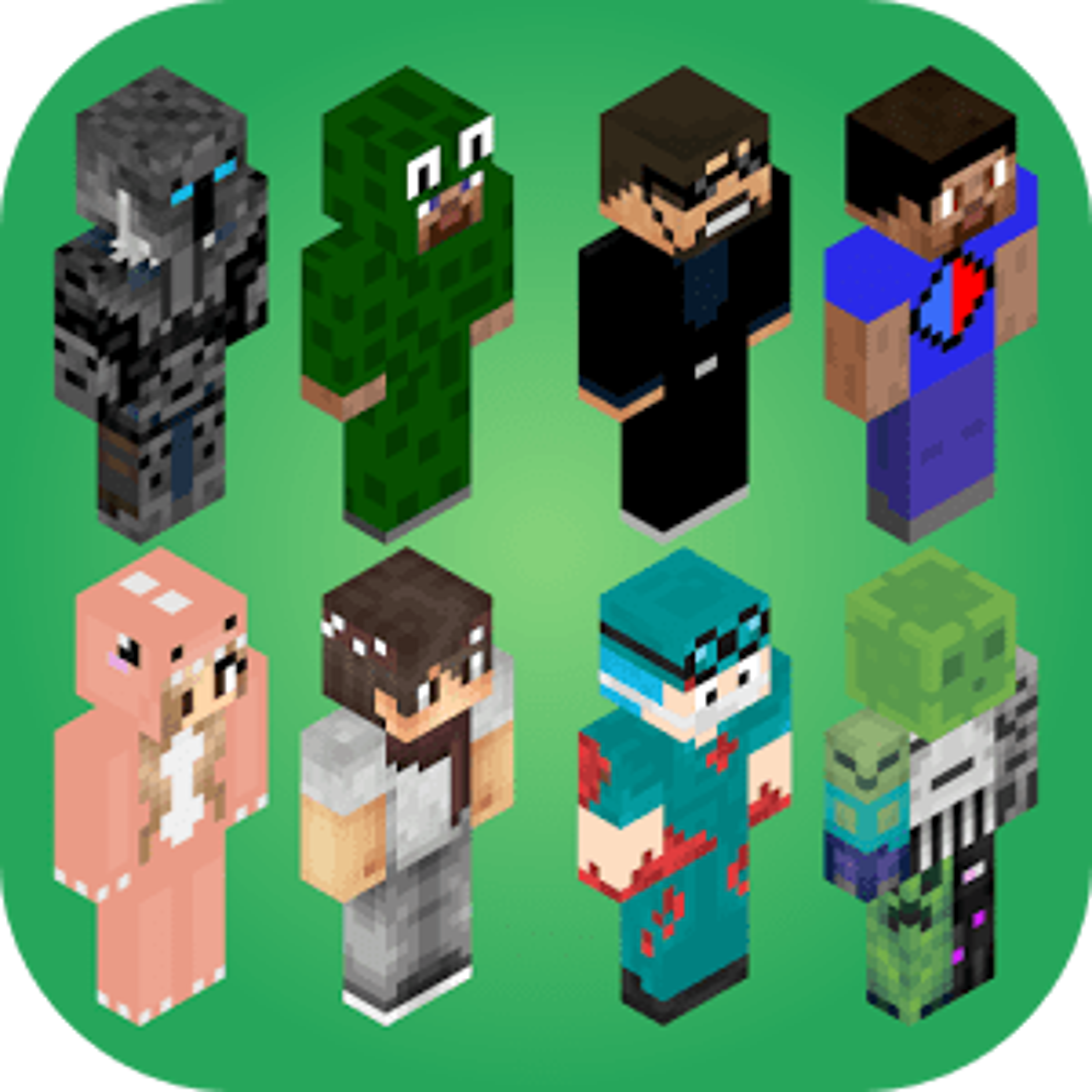 Skins for Minecraft 2 1.3