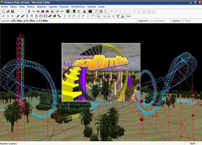 NoLimits Coaster Editor