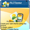 Pic2theme 1.0.91 (S60 3rd)