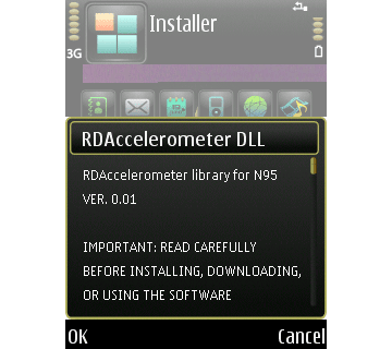 N95 RD Accelerometer Plug-in package