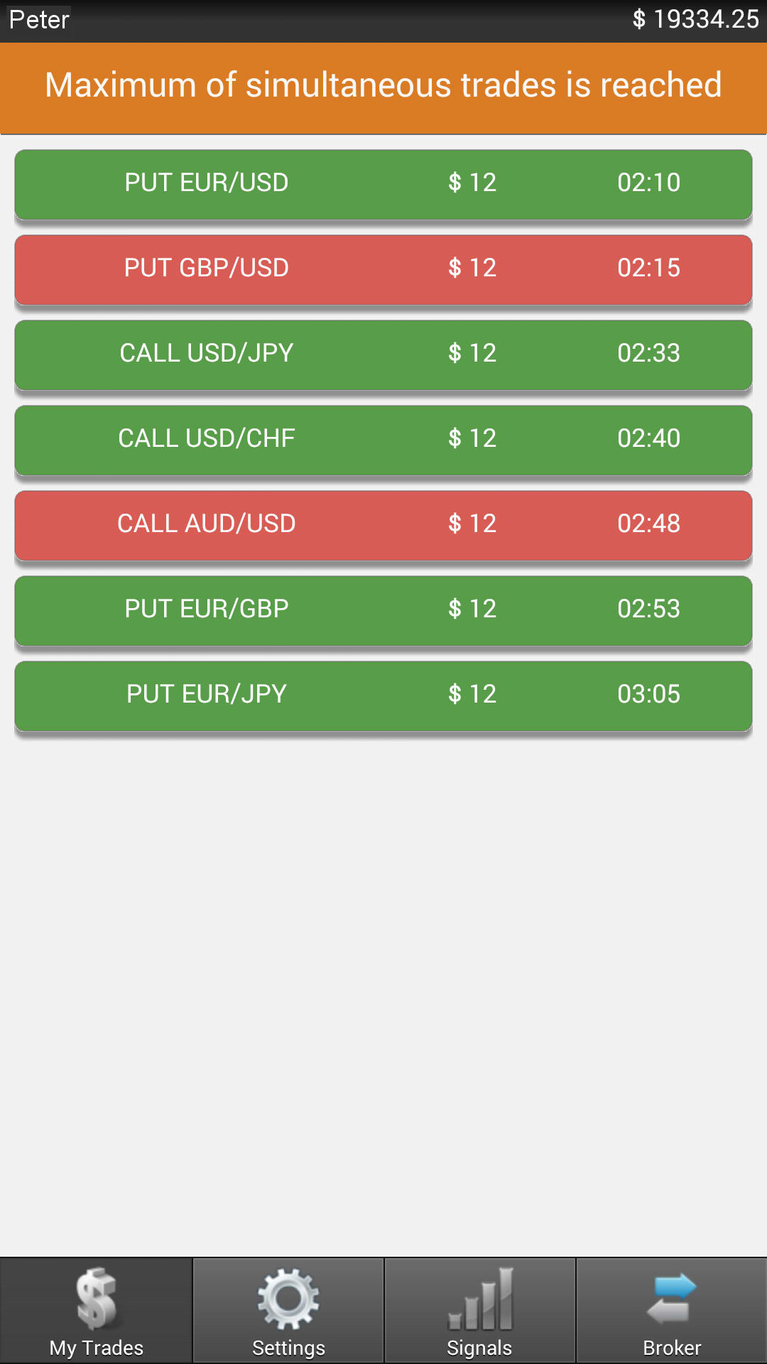 binary option robot mobile app