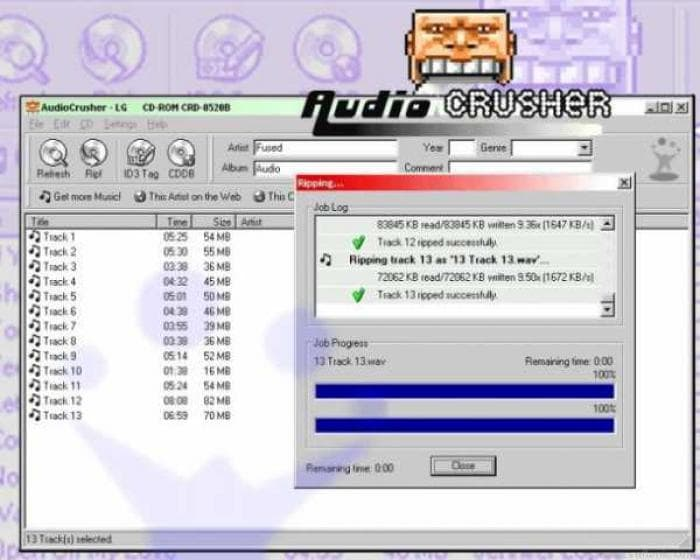 AudioCrusher