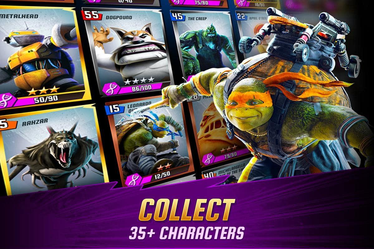 Las Tortugas Ninja Leyendas para Android  Descargar