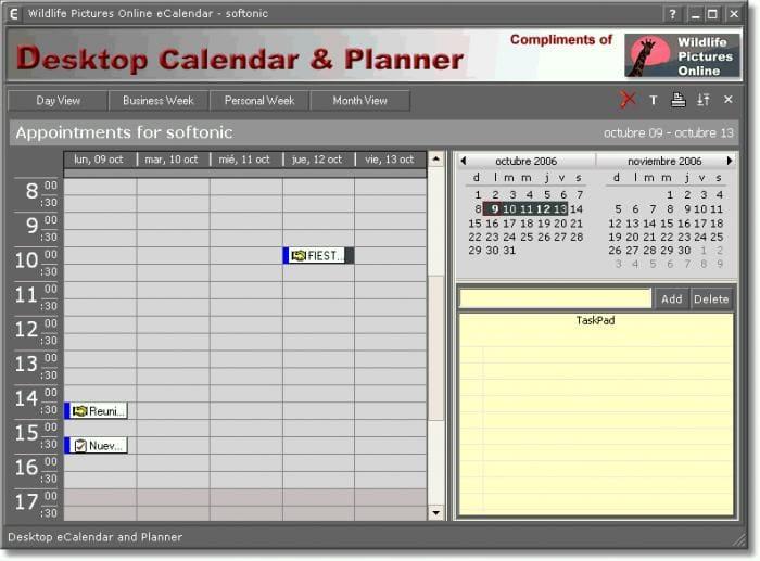 Calendar Planner For Pc : Desktop calendar planner descargar