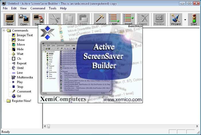 Active ScreenSaver Builder