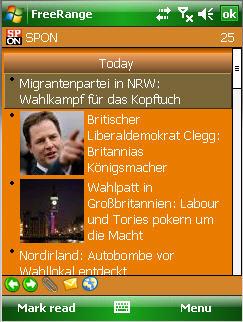 Freerange RSS Reader