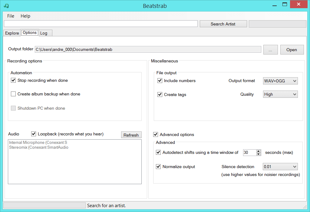 Beatstrab - Audio-Stream Recorder