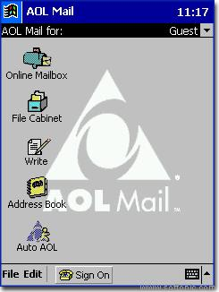 AOL Mail for Pocket PC