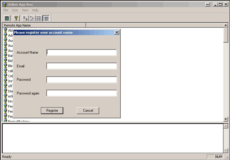 Online App Box