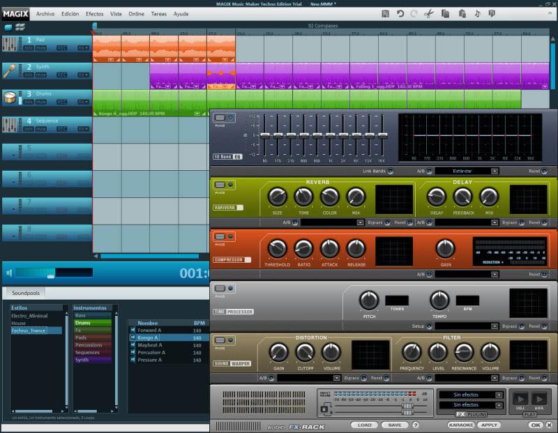 MAGIX Music Maker Techno Edition