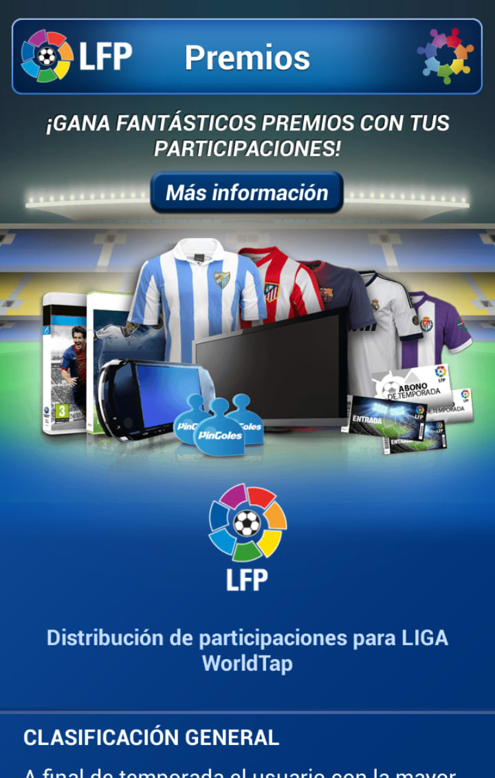 LIGA WorldTap