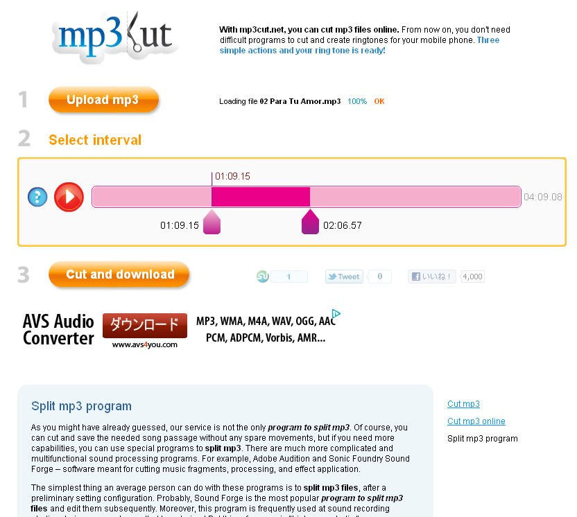 mp3cut.net