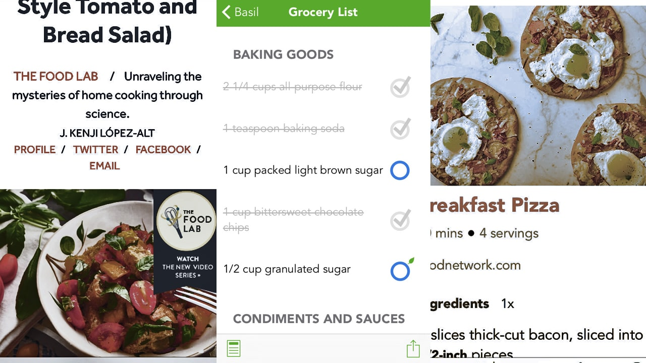 Basil smart recipe manager organize and cook your recipes for basil smart recipe manager organize and cook your recipes forumfinder Image collections