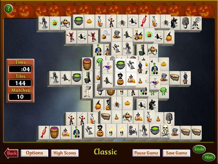 Mahjong Halloween