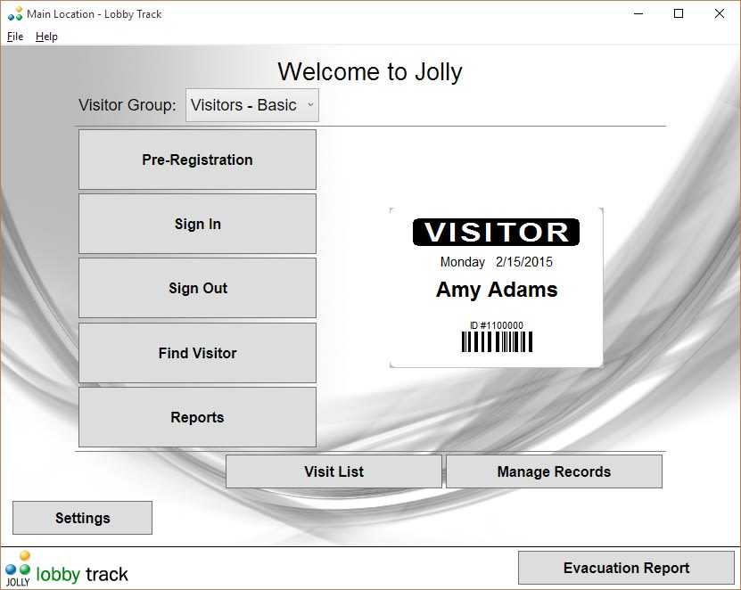 Lobby Track Visitor Management System