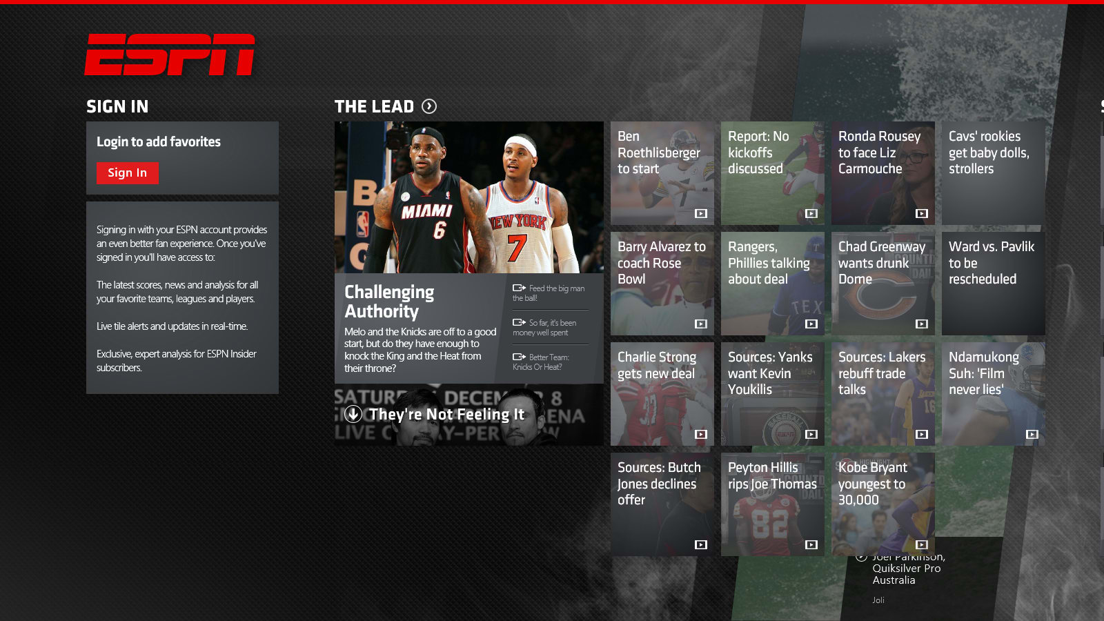 ESPN Apps on the App Store