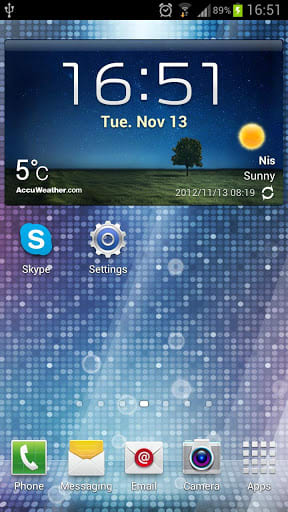 Live Wallpaper for Galaxy S3