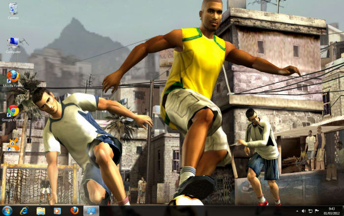 FIFA Street 2012 Theme